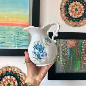 The Floral Pitcher